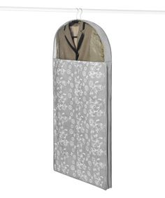 Look at this Gray Swirl Hanging Dress Bag on #zulily today!
