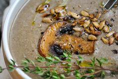 Tasty, cheap and easy vegan recipes by Sandra Vungi Creamed Mushrooms, Stuffed Mushrooms, Mushroom Soup, Vegan Recipes Easy, Hummus, Tasty, Ethnic Recipes, Food, Hoods