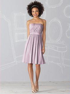 #dessy♥weddingchicks  lovely lilac bridesmaids dress. chiffon ftw!