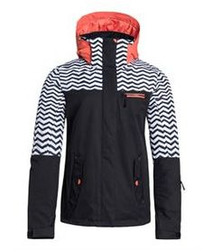 Roxy Jetty Block Snowboard Jacket - Womens