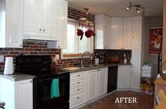 Before & After: A Kitchen Backsplash & Counter Upgrade Reader Project | Apartment Therapy