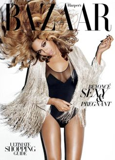 Beyonce' Harper's Bazaar Cover: I just... can't get over this. I love Beyonce! and I LOVE the jacket she is wearing!!