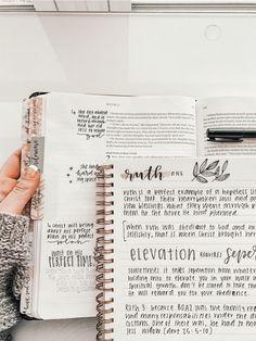 Tittle Ideas, Bibel Journal, Bible Doodling, Bible Notes, Bible Study Journal, Bullet Journal Ideas Pages, Bible Verses Quotes, Scriptures, Study Notes