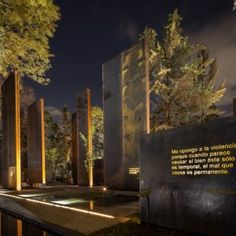 Memorial to Victims of Violence in Mexico by Gaeta Springall Architects « Landscape Architecture Works | Landezine