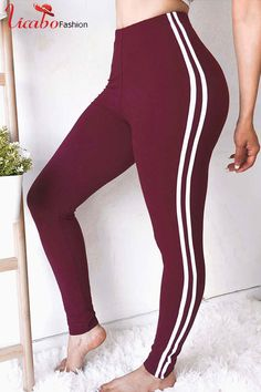 dc77d1319d0 Womens Sports Yoga Gym Running Activewear Stretch Skinny Pants Trousers  Leggings