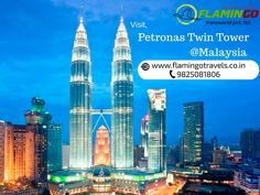 You should visit atleast once this amazing Petronas Twin Tower in Malaysia with Malaysia Tour Packages From Mumbai.