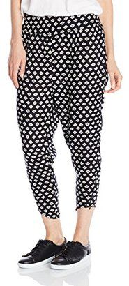 Volcom Junior's Counting Stars Harem Pants - Shop for women's Pants - Black Pants