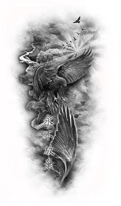 www.customtattoodesign.net wp-content uploads 2014 04 eagle-sleeve-web.jpg
