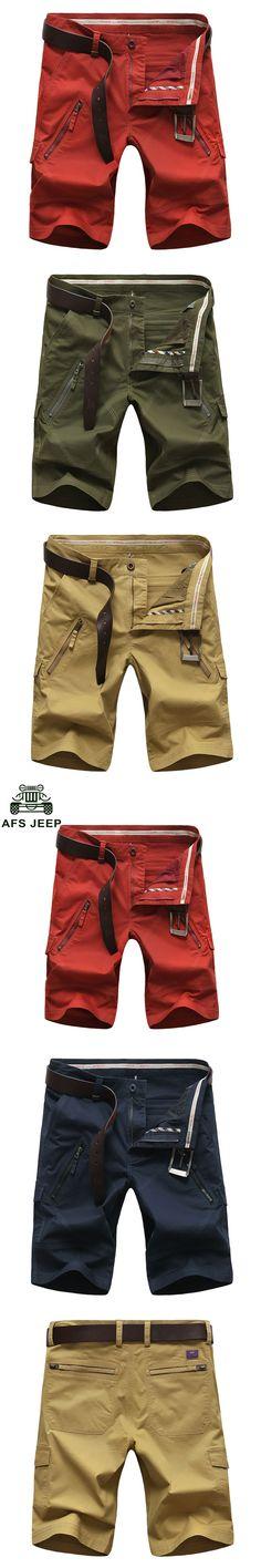 2017 30~50 Size Plus Size Brand Clothing CLOTHES Straight Men's Shorts 4 Color Cotton Summer Men's Casual Shorts Pocket