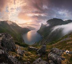 Photograph The Senja glance by Daniel Kordan on 500px-#Lofoten #North #Norway #Senja #Tromso