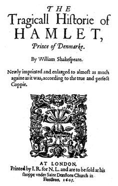 """I read """"Hamlet"""" in English class my Junior year of high school, and I really liked it!"""