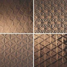 Karell Design Materials clockwise from top left: sand, string, stearin, frieze