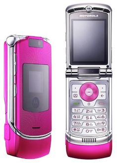 Motorola Flip Phone - one of my many mobile phones over the years.