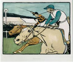 Old English Sports & Games - Racing, by Cecil Aldin
