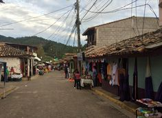 Valle de Angeles, a town outside Hondura's capital, is a quaint tourist haven nestled in green mountains.