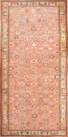 Oversized Antique Persian Sultanabad Rug 47700