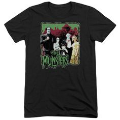 """Checkout our #LicensedGear products FREE SHIPPING + 10% OFF Coupon Code """"Official"""" Munsters / Normal Family-short Sleeve Adult Tri-blend - Munsters / Normal Family-short Sleeve Adult Tri-blend - Price: $44.99. Buy now at https://officiallylicensedgear.com/munsters-normal-family-short-sleeve-adult-tri-blend"""