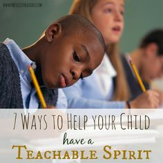 Does your child have an unteachable spirit? Listen to these honest tips from a parent who cares and who at one time was unteachable herself! www.pintsizedtreasures.com