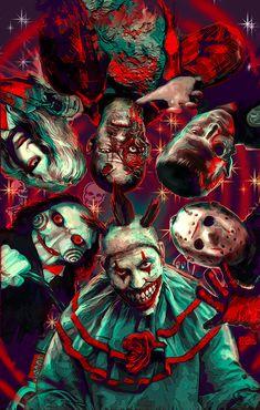 3 SIZES Twisty Jason Jigsaw Terminator art print Dawn of the