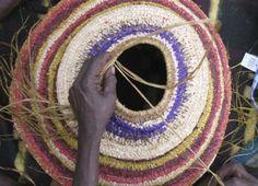 Tjanpi Desert Weavers fibre art