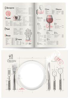 Une belle identité créée par Umbra Design pour Corassini. La douceur du gris entrelacé avec ce rose donne une harmonie très belle et architecturale comme le veut l'histoire de ce restaurant. Tweet