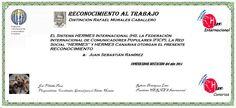 Reconocimientos 2014: Juan Sebastián Ramírez Distinción Rafael Morales Caballero
