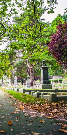 What ghost will you come across in Ross Bay Cemetery?? #ghost #Halloween #VictoriaBOO | www.tourismvictoria.com