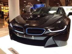 The BMW i8 | black | sport | sleek | i Series | BMW | Dream car | Bimmer | concept car | car photography | Schomp BMW
