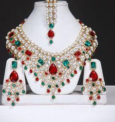 Bridal Kundan jewelry set