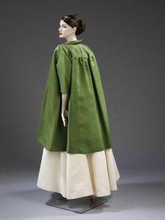 Cristobal Balenciaga evening coat from 1955