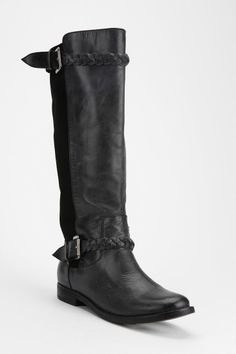 Ecote Tall Braid Boot from Urban Outfitters. Love the braid <3 (7 1/2)