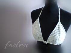 summer crocheted bra