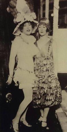Lili herself, with Elna Tegner, wife of Danish sculptor Rudolph Tegner