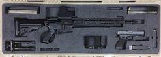Foam Insert for Rifle in Pelican 1720 Foam Gun Case Insert Iwb Holster, Custom Guns, Gun Cases, Tactical Knives, Double Tap, Hand Guns, Innovation, Outdoor, Ideas