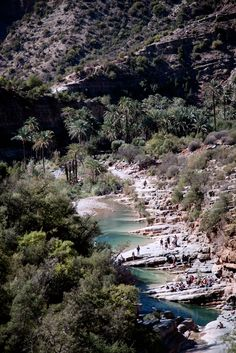 Paradise Valley, Morocco.   Source: akilaberjaoui