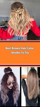 35 Hottest Fall Hair Colour Ideas for All Hair Types 2019 Do you have long hair ... - #2019 #35 #Colour #fall #hair #Hottest #Ideas #Long #Types Brown Hair Color Shades, Brown Hair Colors, Fall Hair Colors, Hair Colours, Braid Game, Soft Hair, Natural Curls, French Braid, Curled Hairstyles