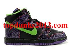 new arrival 1a057 31472 Suitable DJ AM Red Black Premium High Top Nike Dunk. See More. Original QK  Day of the Dead Black sprinter green Premium High Top Nike Dunk