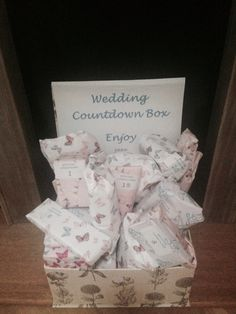 Wedding Advent Calendar. 25 gifts counting down to the big day. #ANBrown4715