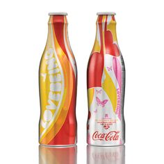 limited edition coke bottles by ian anderson (the designers republic)