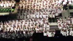1000 choristes 2015 Montbéliard Axone Barcella Restos du coeur 4