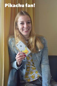 Ik ben een pikachu fan! Vandaar dit leuke telefoonhoesje die matcht bij mijn Pikachu t-shirt!