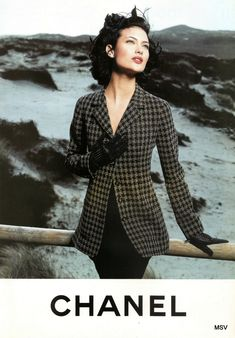 Shalom Harlow for Chanel, by Karl Lagerfeld