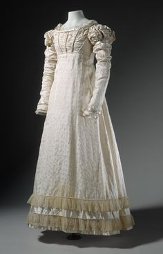 Young Woman's Dress France, circa 1822 | LACMA Collections
