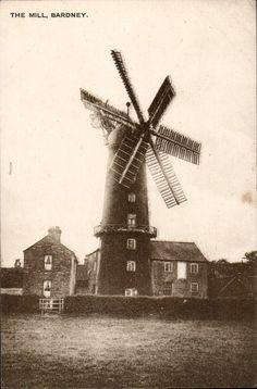 Bardney. The Windmill by T.T. Brumwell, General Stores, Bardney. | eBay