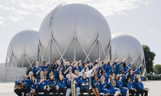 The International Space Orchestra - Nelly Ben Hayoun. The International Space Orchestra The world's first orchestra composed of Space Scientists from NASA Ames Research Center and the SETI Institute Singularity University, Space Story, Nasa Missions, Original Music, Installation Art, Art Installations, Solar System, Orchestra, Sistema Solar