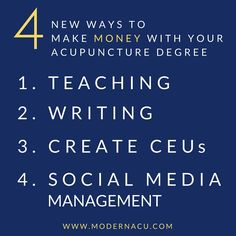 Acupuncture usyd marketing major