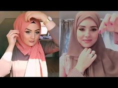 أجمل لفات حجاب 2019 سريعة و أنيقة ✔️✔️للعمل و الجامعة ✔️ولكل يوم ✔️ - YouTube Hijab Tutorial, Islamic Fashion, Mode Hijab, Youtube, Rose, Pink, Islamic Clothing, Roses, Youtubers