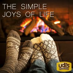 Those cold nights huddled around the fireplace. #SimpleJoys