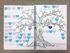 I love our customer photos!!  Blueberry Co Monochrome Baby Book  // family tree // Modern Baby Memory Book - unisex, monochrome Baby journal // baby memory journal // colouring in // neutral baby memory book // pregnancy journal www.blueberryco.com.au