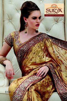 Net Fabric Lehanga style saree heavy valvet cutting work zerkan stone and kundan sarees Wedding Lehanga, Fancy Sarees, Saree Collection, Indian Sarees, Sari, Dresses, Fashion, Indian Saris, Saree